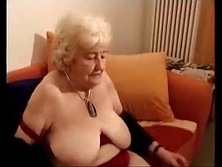 Having fun with old slut Cousin of my mother amateur older