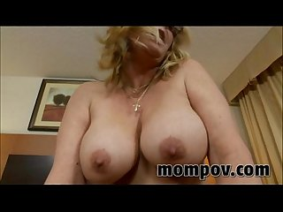 big tits mature riding cock