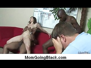 Interracial sex MILF fucked by monster cock 31