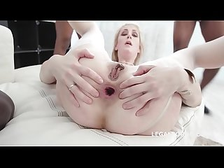 Maxim Law gets 4 BBC with balls deep anal, DP, DAP with Gapes