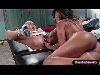 Hot and mean lesbians major trust issues with kaylani lei madison scott marie luv 03