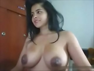 Indian Desi cam girl with big tits naughtyslutcam com