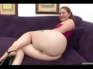 Big ass redhead sucks big cock