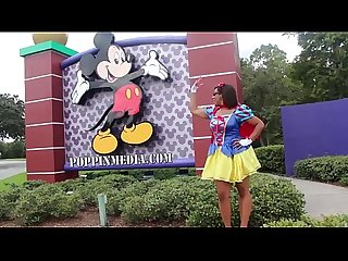 Twerking at disney world princess gone wild starring caramel Kitten