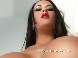 Best of Facesitting POV 9 Upskirt femdom ass worship s. big butt closeup verbal humiliation..