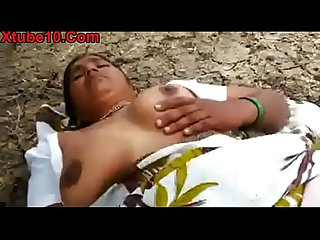 Indian Desi village big boods randy fucked in jungle porn video