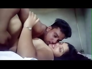indian young boy have fun with his bhabhi