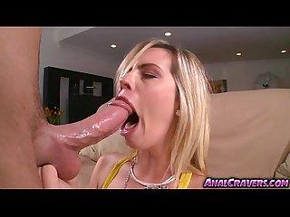 Blondie chick tara lynn foxx with a cock to bang