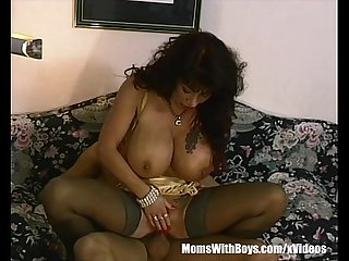 Gifted with a huge boobs fucked like hell