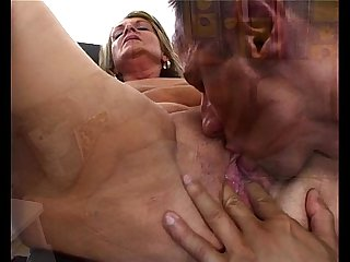 Horny granny water spa fun fucking