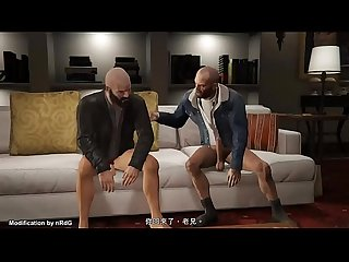 GTA5 Nude Franklin, Michael & Trevor for Story Mode