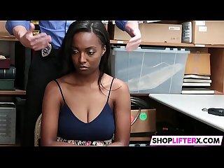 Dark cutie thief daya has big tits