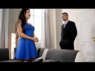 Real estate agent gets sucked and fucked by wife for discount