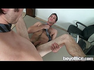 Boyoffice cock seduction