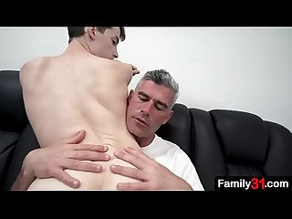 A nice helping of big cock will make sure my stepson remembers to be a good boy in the future