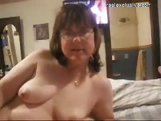 Many facials for busty milf anita
