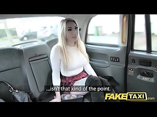 Fake taxi Good fuck anal Sex and huge Facial for naughty blonde