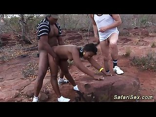 threesome african safari sex tour