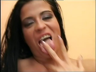 A Monster Cock for an Hairy Hungarian Bitch!!! She loves take a huge Cock in her..