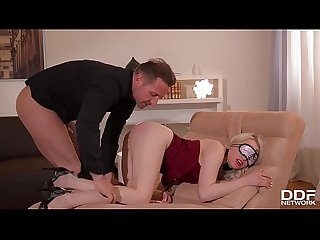 Bondage Babe Nikki Humiliated And Fucked Balls Deep By Therapist