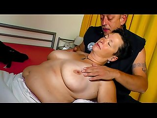 XXX OMAS - Big tits German chubby mature gets screwed