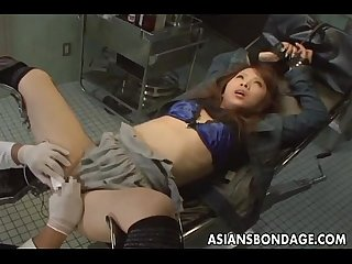 Japanese babe in weird hospital