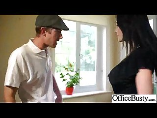 (aletta ocean) Busty Hot Girl Hardcore Bang In Office movie-01