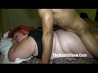 She cant handle redzilla 12 inch bbc sbbw lover takes it all P2 lpar new rpar