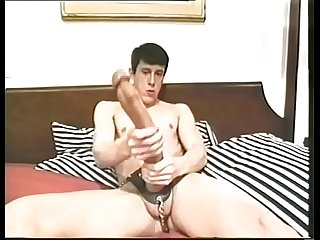Big cock is enjoying his cock in the mouth long well