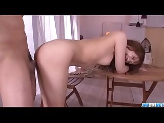 Rika Aiba, peachy tits doll, goes wild on two cocks - More at javhd.net