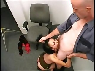 Half asian deepthroat
