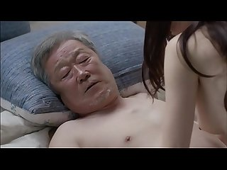 Old father hard fuck her sons very young hot korean wife