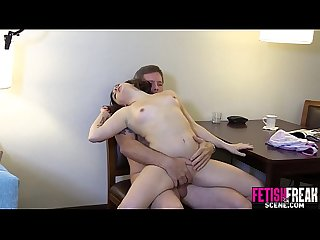Stepdaughter fucked in the kitchen