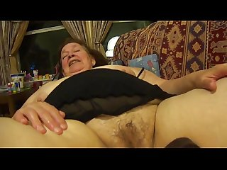 Bbw granny from bbwcurvy com big black dildo