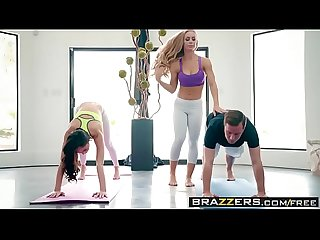 Brazzers brazzers exxtra yoga freaks episode seven scene starring ariana marie nicole aniston