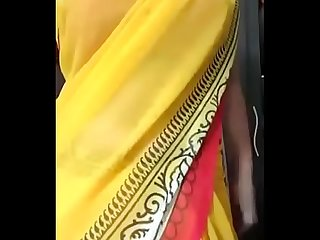 Desi tamil gf in saree seduces bf stripping milf desixporn com