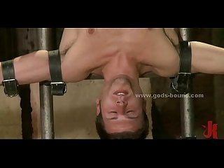 Delicious gay pray bound bdsm fucking