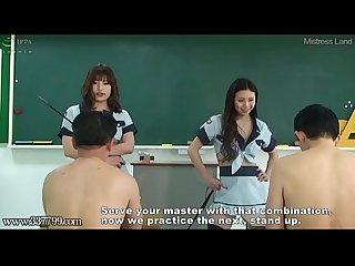 Japanese femdom cunnilingus training