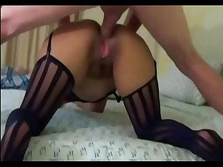 MILF teaches her son in law how has to fuck her wife. She wants her daughter get the..