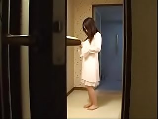 Hot Japanese Asian Mom Fucks with Young Son