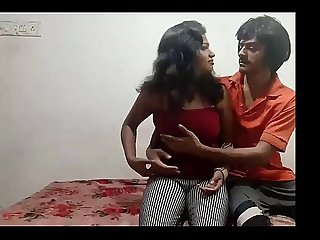 lovers hot sex in room
