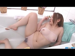 Busty Alice Ozawa vibrates her fat asian pussy - More at javhd.net