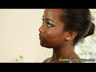 Ebony masseuse fuck deep
