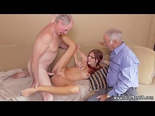 Brunette fucks old guy first time frankie and the gang take a trip