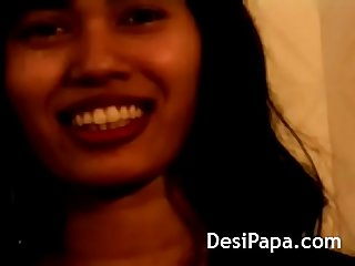 Desi teen shower stripping