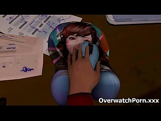 Overwatch d va rough sex