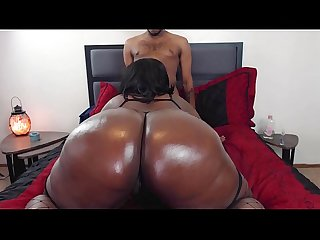 Slutty BBW Stepsister Gets Caught Webcam Modeling Trailer