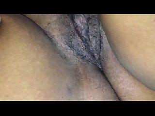Wet Horny Ebony Solo