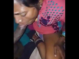 Mature aunty suck n fuck