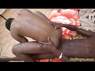 African amateurs bareback assfuck in kitchen